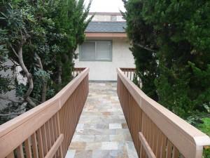 Carlsbad Lower Unit Entryway - Exterior Design
