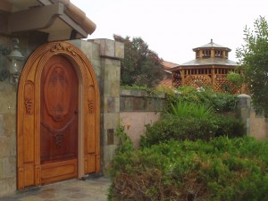 La Jolla Front Entrance and Gazebo - Exterior Design